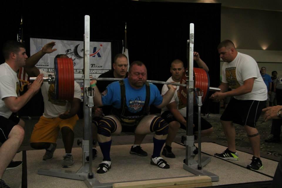 Nationals squat